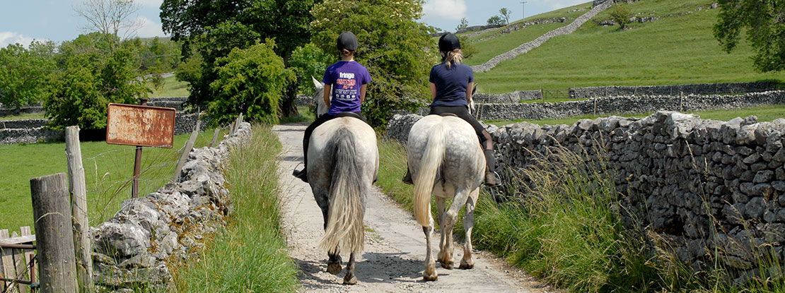 Horse riding in Yorkshire